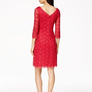 Calvin Klein Lace Sequin Cocktail Dress